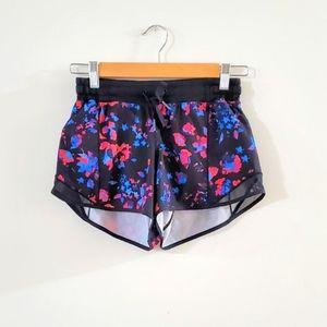 Lululemon black multicolor shorts